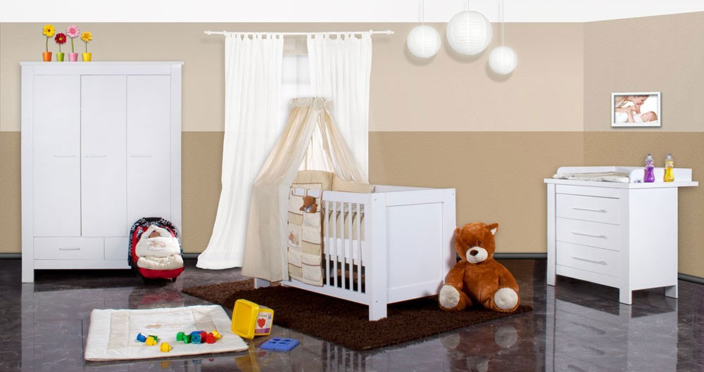 die optimale einrichtung des babyzimmers. Black Bedroom Furniture Sets. Home Design Ideas