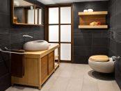 Badezimmerarmaturen-der-neueren-Generation