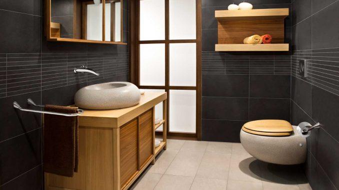 Badezimmerarmaturen der neueren Generation -