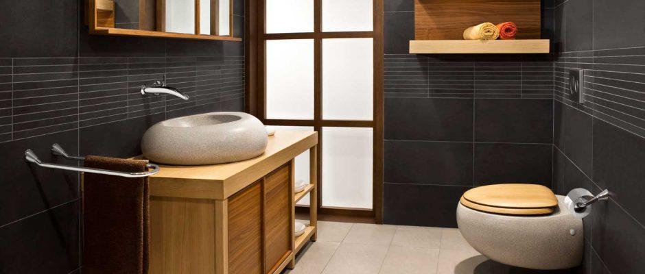 Badezimmerarmaturen  Badezimmerarmaturen der neueren Generation -